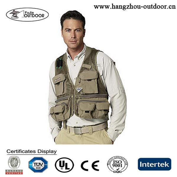 2015 New Fly Fishing Vest Made in China