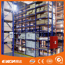 guangdong manufacturer widely use light duty metal shelving system container rack