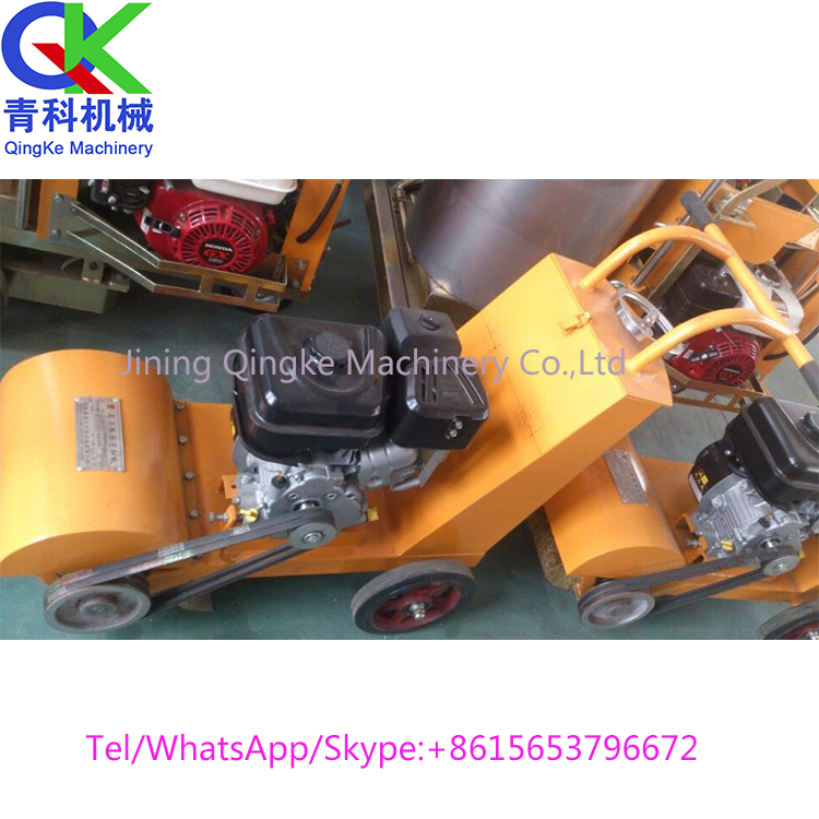 Push hands gasoline high pressure road sweeping machine made China sale