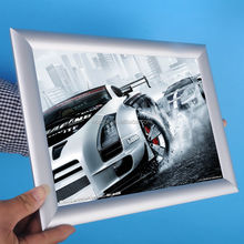 high quality snap clip poster frame anodised aluminum custom size a1 a2 a3 a4 poster frame