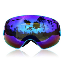 High elastic strap cheap skiing sunglasses youth ski goggles