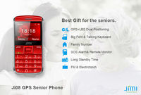 2014 JIMI Small Size GPS Senior Alarm Phone For Old Man