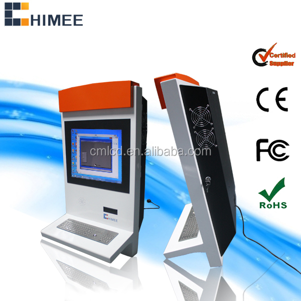 "17""floor Stand Information Touch Kiosk with i3 Dual Core industrial computer lcd kiosk 1 Piece (Min. Order)"