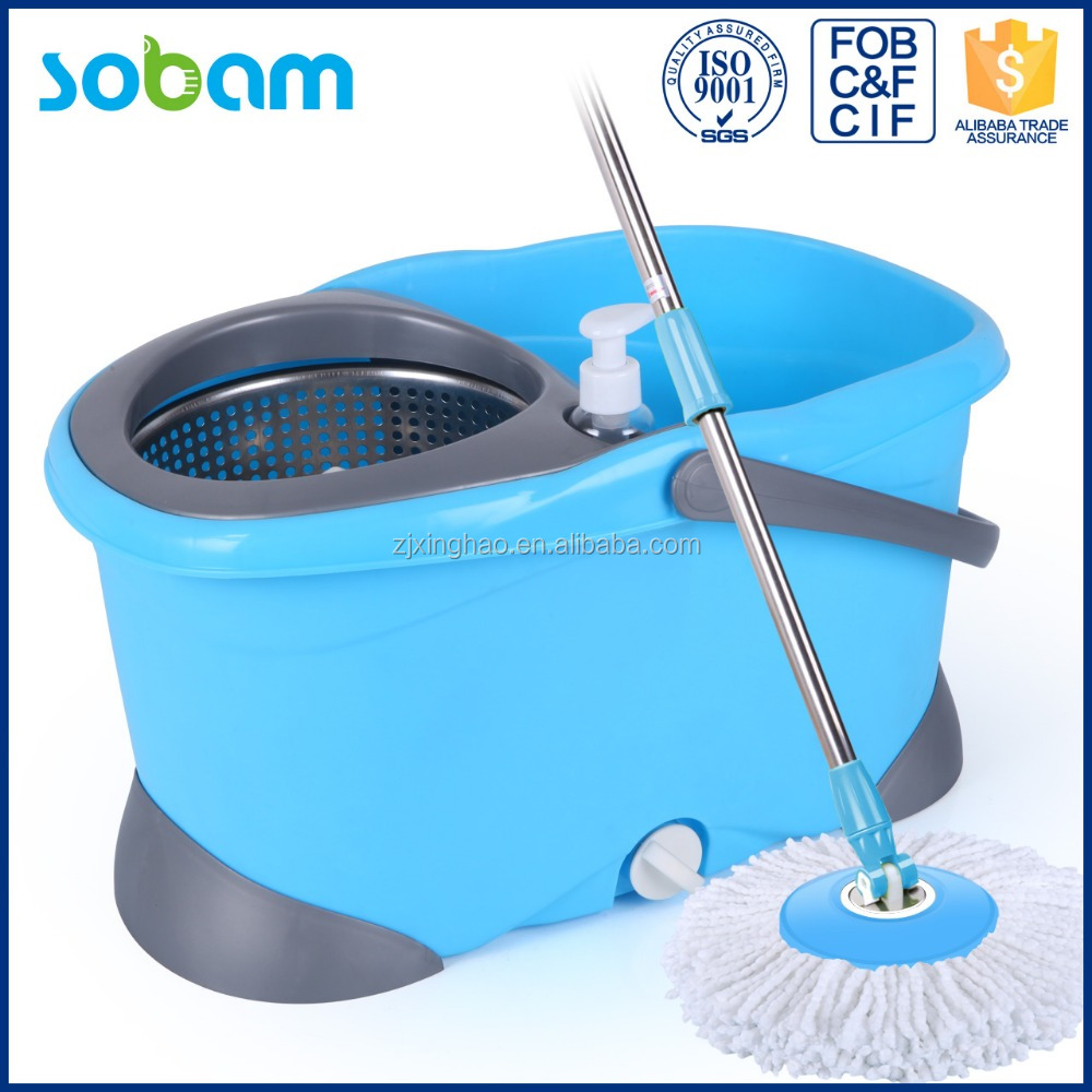 Top mop bucket,360 cleaning spin mop handle