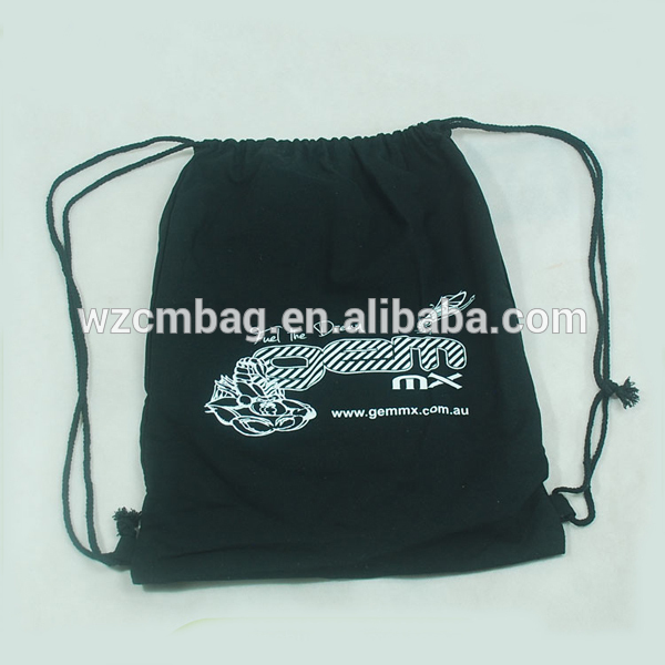 One Color Logo Printing Promotional cotton bag
