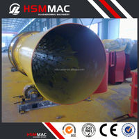 HSM Mining Chemical Rotary Dryer For Pulverized Fuel Ash