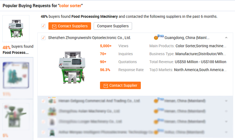 Factory price recycled pet scrap color sorter machine gold supplier