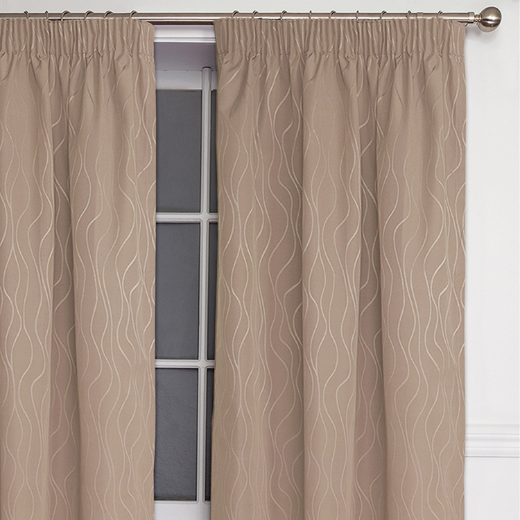 new style thermal insulated coated decorative office door custom curtain