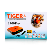 Tiger I400 Pro satellite receiver Subscription one year Royal IPTV for free