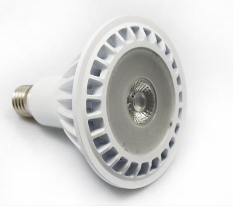 UL ES listed SHARP Chip inside 120V 20w COB Par38 dimmable led sportlight
