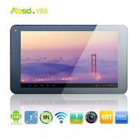 laptops with fast shipping android sale game console tablet dual camera hdmi dual core 4gb touch screen V88