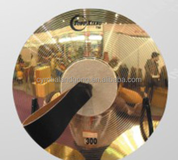 Brass Marching cymbals copper two cymbals for band