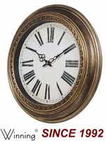 2014 New Design Antique Brass Wall Clock