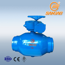 electric actuated ball valve worm gear high temperature underground