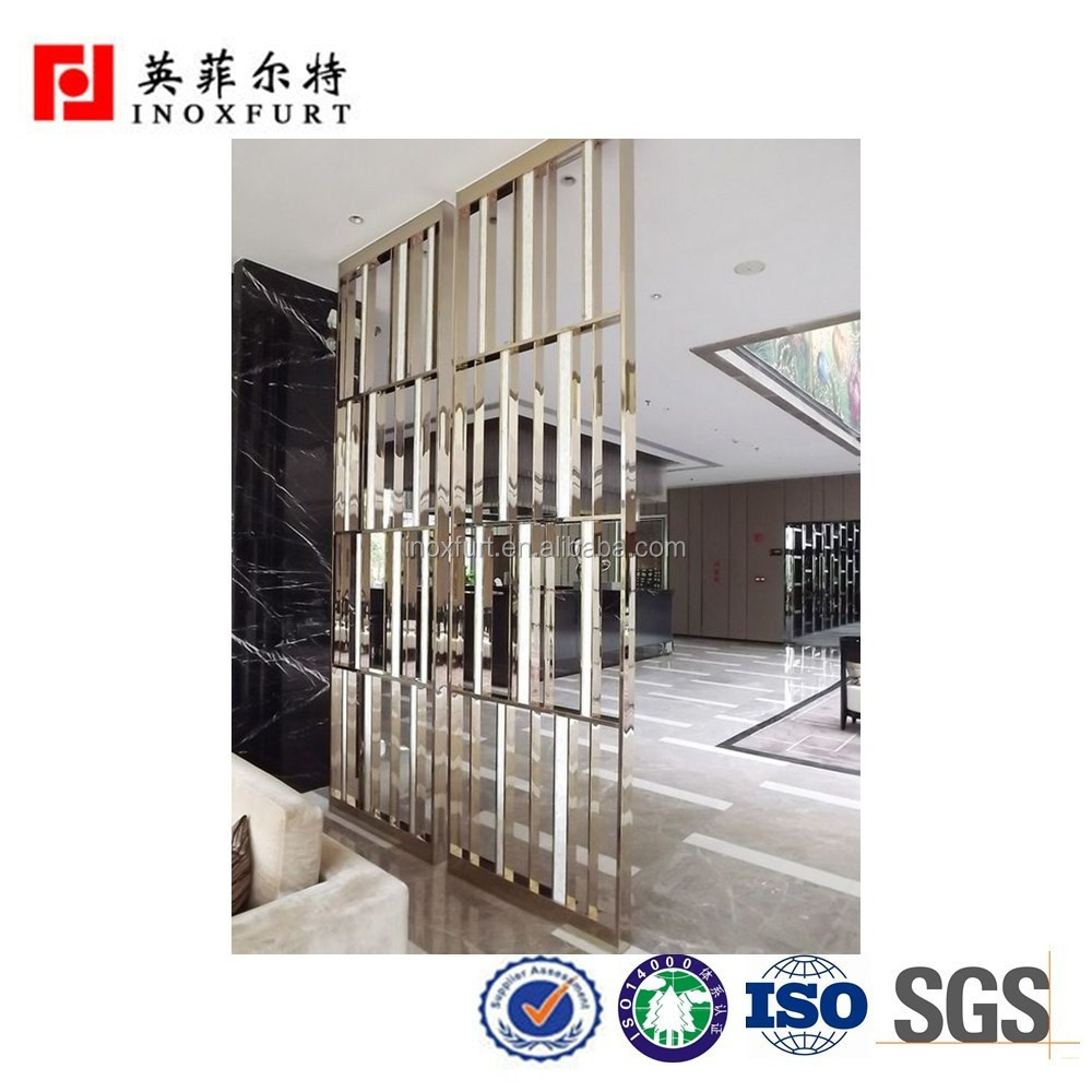 Custom Cheap Stainless Steel Folding Partition Wall