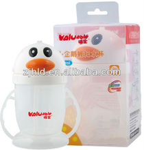 Lovely baby water cup with penguin shape