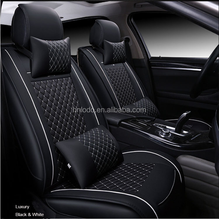 New design luxury leather car seat cover