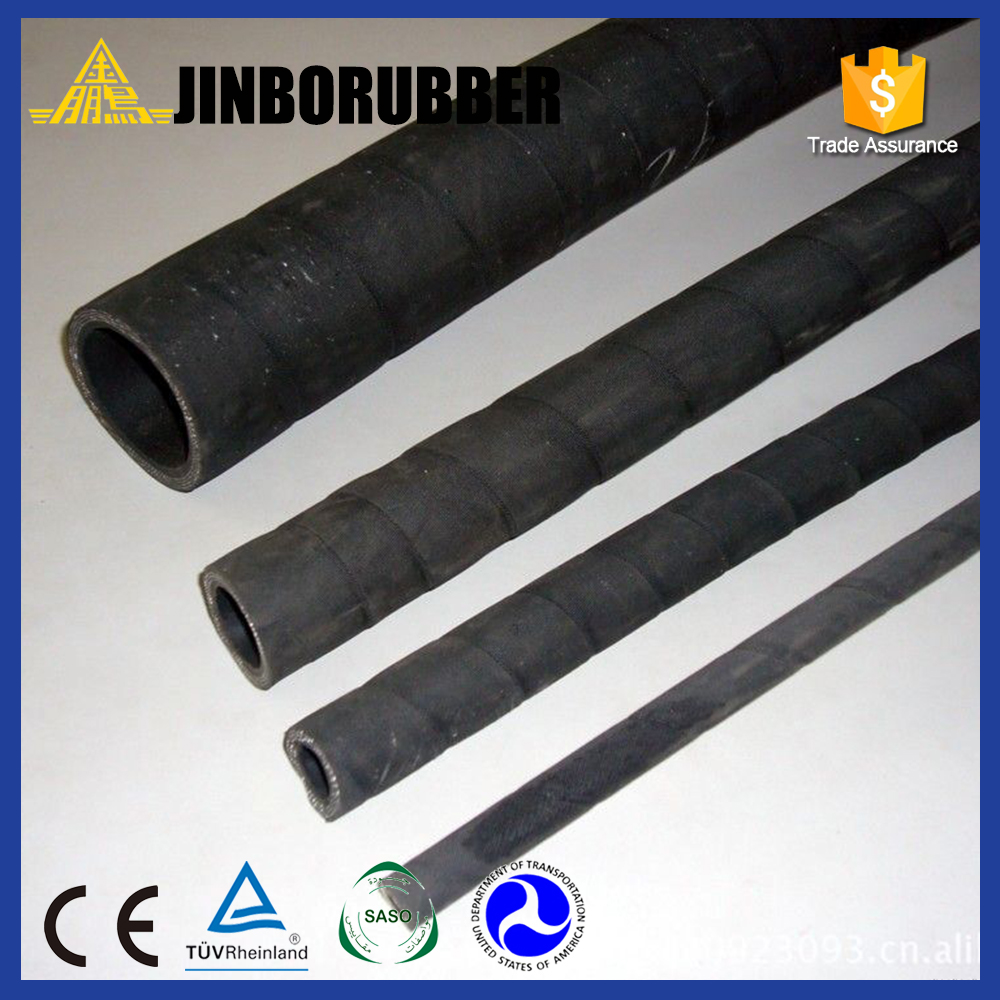 ISO9001 Certified hydraulic hose/oil pipes rubber hose roughness manufactured in China