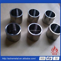2015 new design pure tungsten crucible for melting
