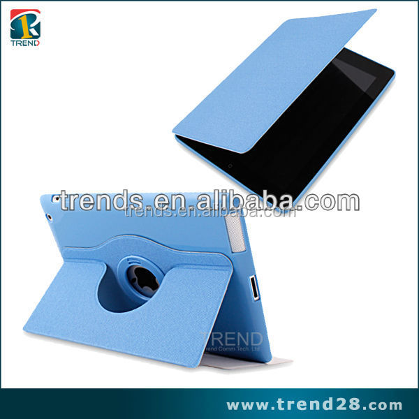 360 Degree Rotating flip leather one direction cover case for ipad air