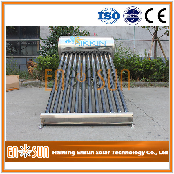 High Performance split solar water heater / solar collector with heat pipe
