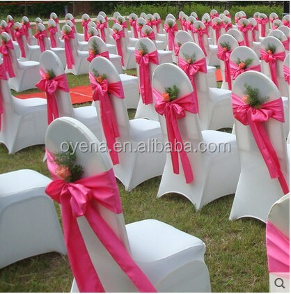 wedding chair cover sash