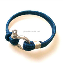 Wilderness protect safety rope rescue parachute bracelet woven plastic steel shackles mountaineering buckle emergency escape