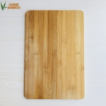 100% Food Grade Bamboo Cheese Cutting Board/ Bamboo Chopping Block for Home Kitchen