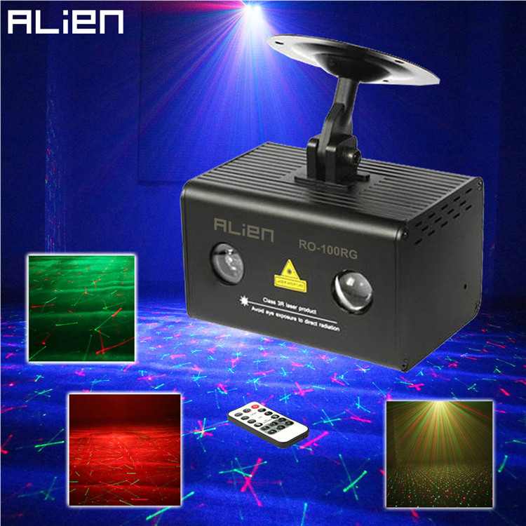 Green Led Laser Party Light Show System