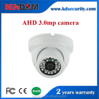 3.0MP AHD Camera Night Vision Video Surveillance system 3.6mm Lens new metal dome camera indoor use