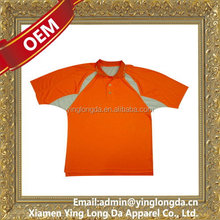 Customized promotional polyester/cotton polo shirt