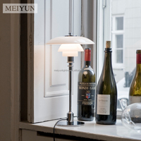Replica PH Metal Glass Table Lamp