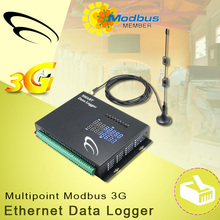 Multipoint Modbus 3G and Ethernet Data Logger ethernet power control
