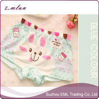 Young girls pretty cartoon lovely rabbit printing Cotton underwear Panties