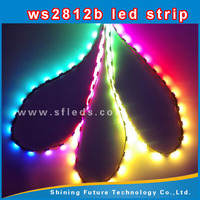 ws2811 high density addressable led strip ws2812b waterproof rgb led pixel string