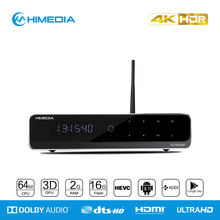 2016Newest quad core best factory price Himedia Android 5.1tv box HDR Ultra HD1080P UI kodi pre-installed high quality stick box