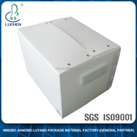 Customized Recyclable China factory offered plastic corrugated storage carton box with handle