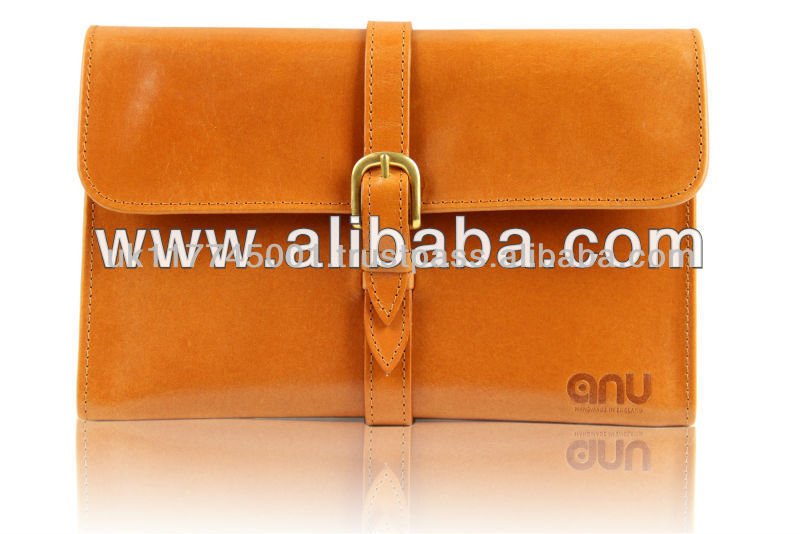 ANU W303 Bridle Leather Cases for iPad [All Models] - Tan *Handmade in England, UK*