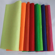 color polyester staple fiber nonwoven needle punched filter felt