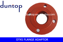 FM and UL ductile iron grooved pipe fitting/flange adaptor