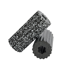 China MILY sport Black and White high density fitness crossfit home gym EPP yoga foam roller for Wholesale