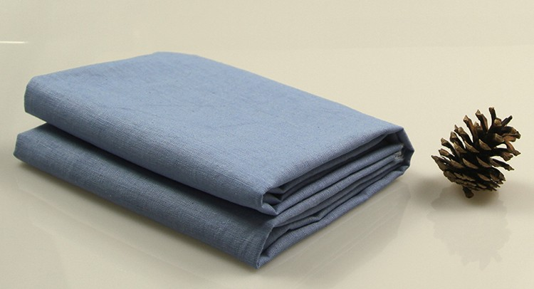 100% linen fabric lower factory price