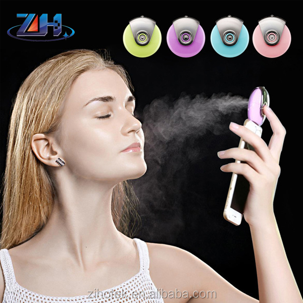 Mini phone Humidifier Aromatherapy essential oil diffuser and Mist Maker Fogger Beauty replenishment ,for Android and IOS