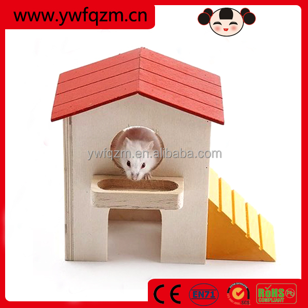 Wholesale wooden toys x hamster house