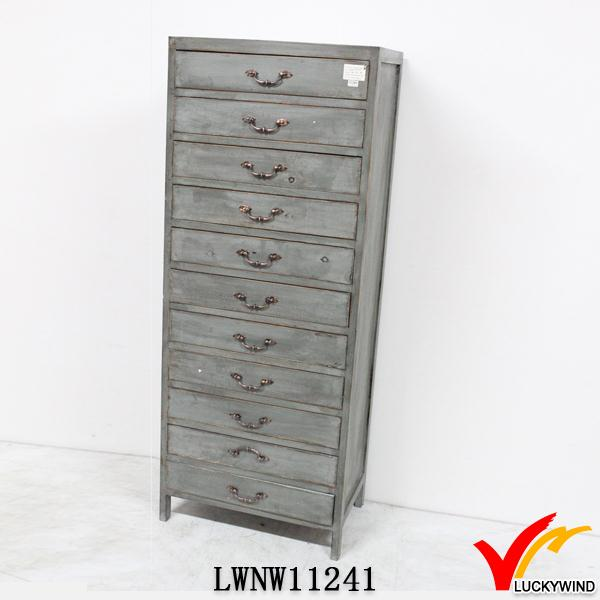 Wholesale Small Many Drawers Wood Furniture Antique