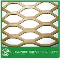 Fence company Stainless galvanized Steel plate Diamond Hole Heavy Expanded Plate Mesh For Working Platform