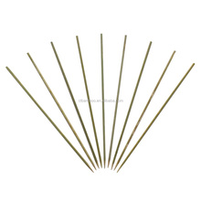 Thin Bamboo sticks Skewer Kabob BBQ Fruit Sticks skewers