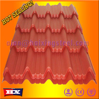 steel metal color types of roof covering sheets cheap price