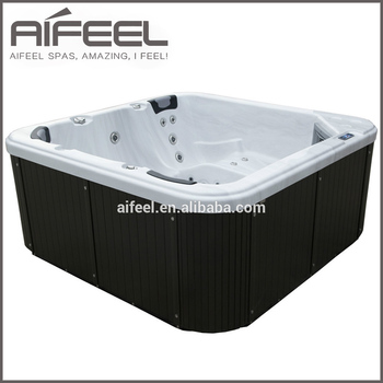 Hot sale Balboa acrylic indoor outdoor portable whirlpool massage spa 5 person hot tub