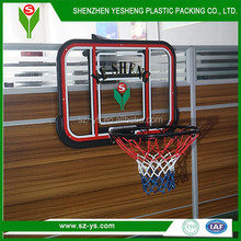 Custom design basketball board and ring for sale